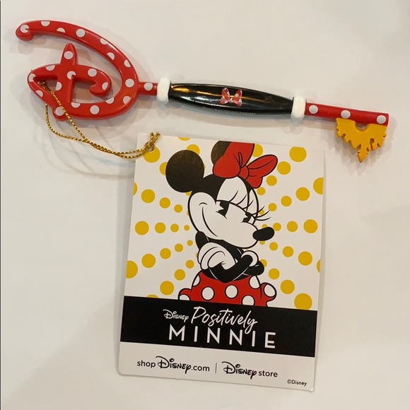 Limited Edition Minnie Mouse Collectible Key